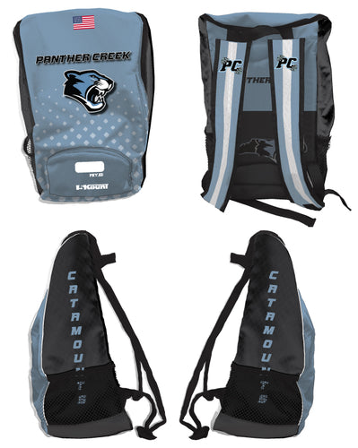 Panther Creek Softball PE Sublimated Backpack