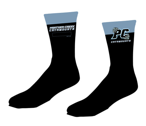 Panther Creek Softball PE Sublimated Socks