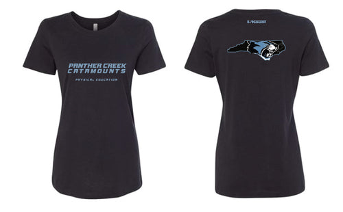 Panther Creek Softball PE Cotton Crew Tee Women - Black