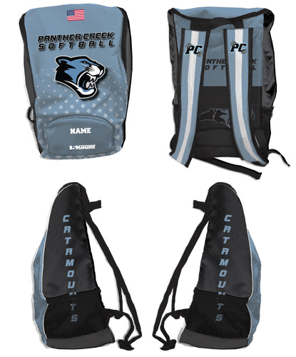 Panther Creek Softball Sublimated Backpack - 5KounT2018