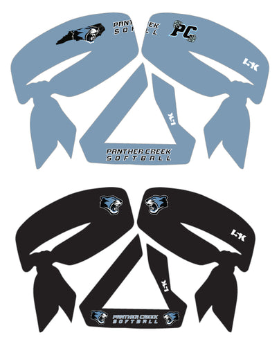 Panther Creek Softball Sublimated Headbands