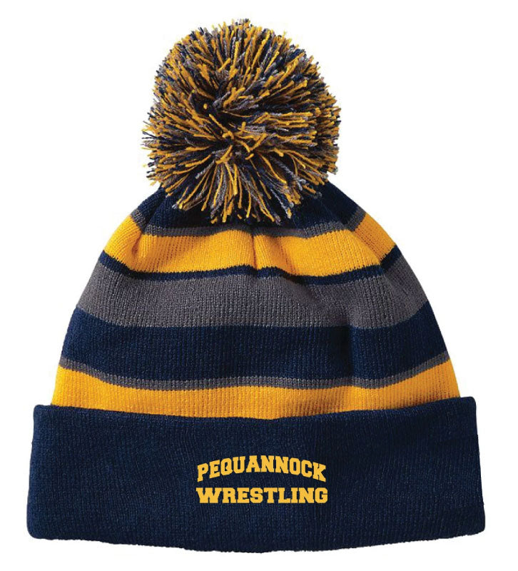 Pequannock Wrestling color Beanie