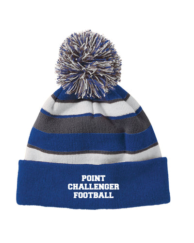 Challenger Football New Pom Beanie - Royal - 5KounT2018