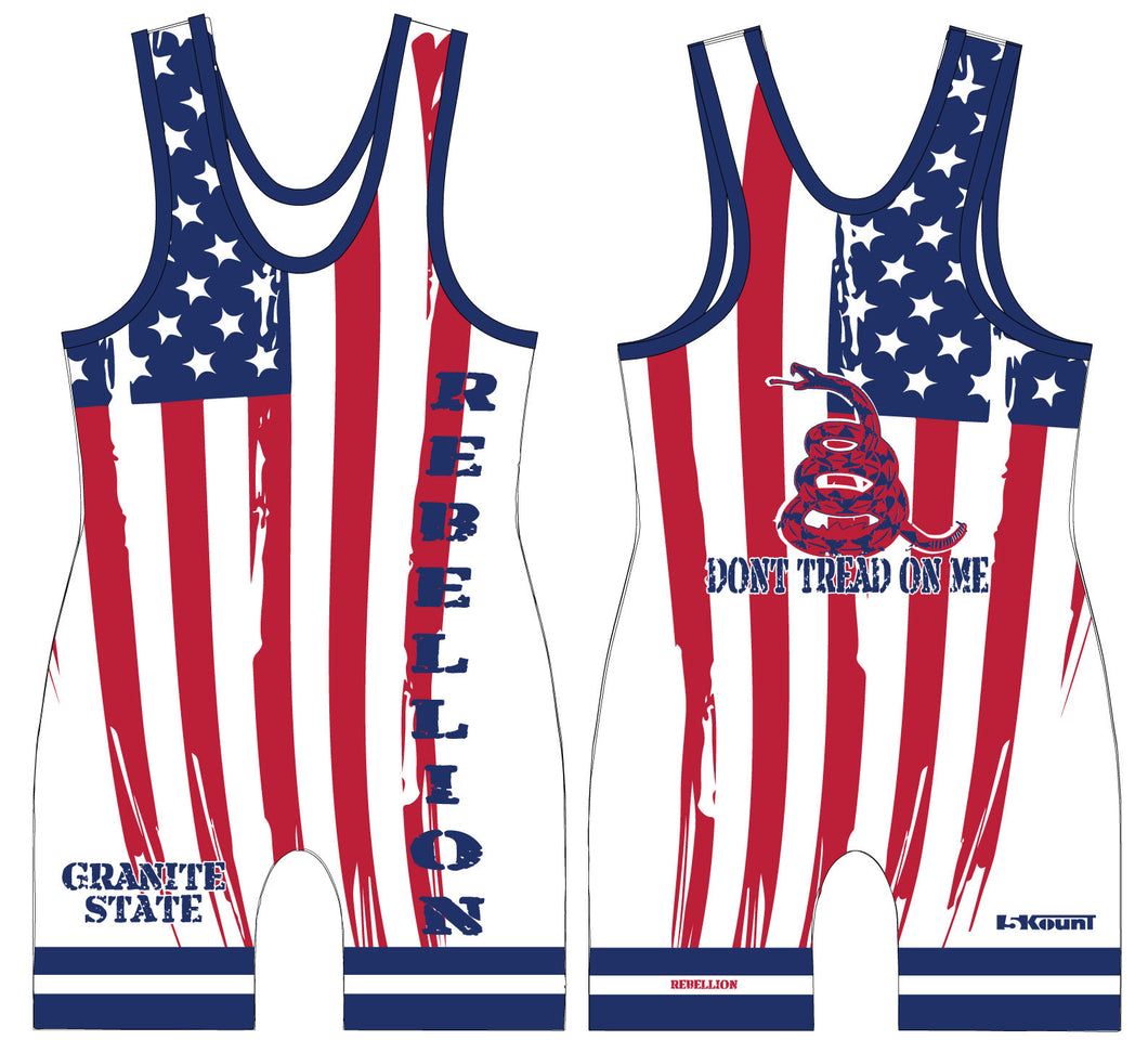 REBELLION Sublimated Singlet