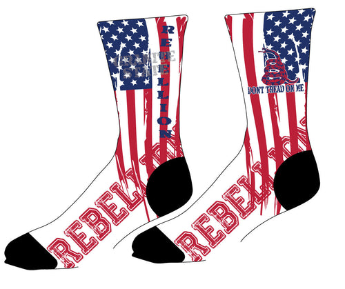 REBELLION Sublimated Socks