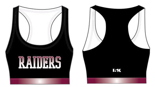 Raiders Sublimated Sports Bra - Black - 5KounT