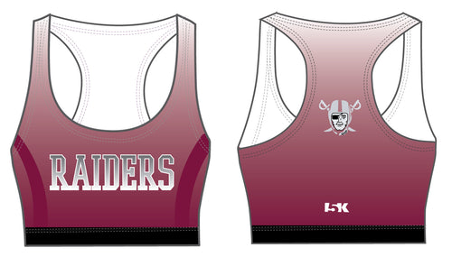 Raiders Sublimated Sports Bra - Ombré - 5KounT