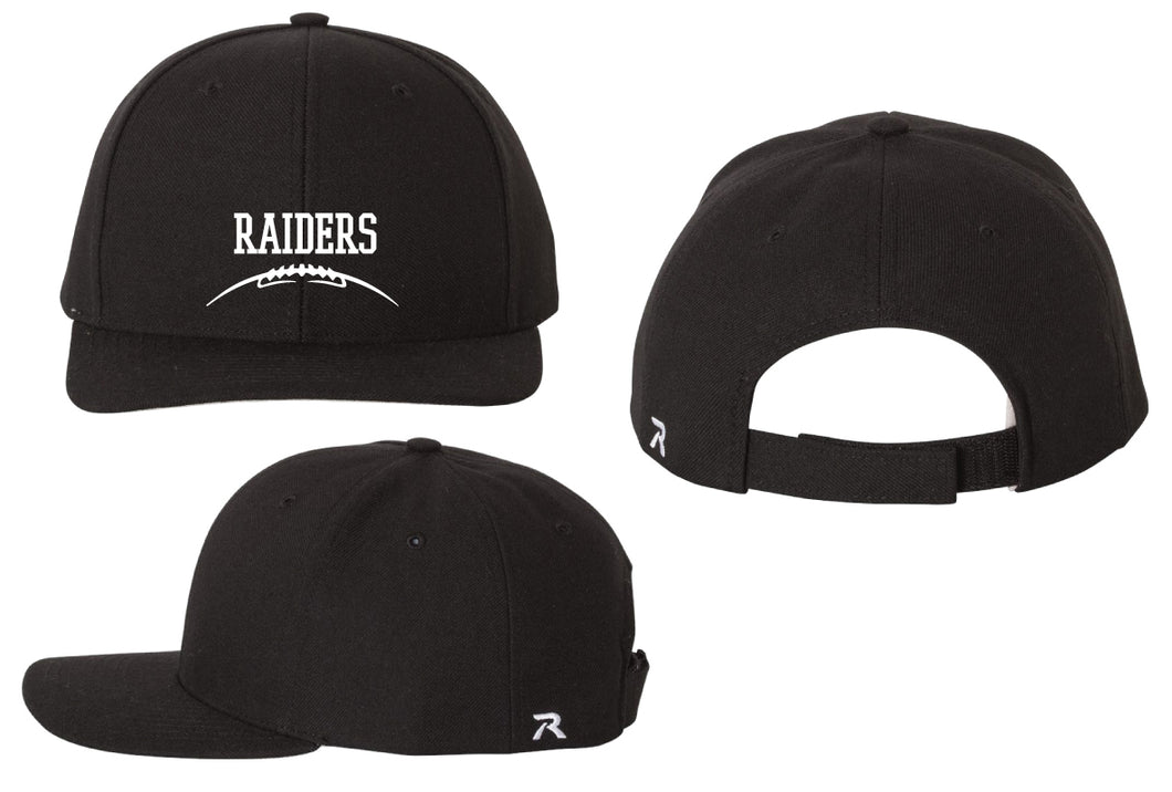 Raiders Football Adjustable Baseball Cap - Black