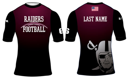 Raiders Football Sublimated Compression Shirt - 5KounT