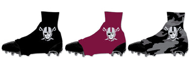 Raiders Football Sublimated Spats (Cleat Covers)