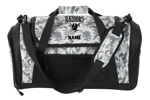 Raiders Sports Duffle - Camo - 5KounT