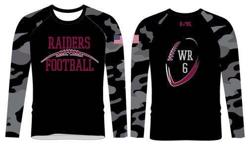 Raiders Football Sublimated Long Sleeve - 5KounT