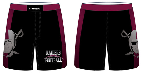 Raiders Football Sublimated Shorts - 5KounT