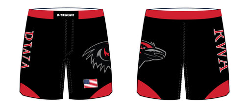 Robbinsville Wrestling Sublimated Fight Shorts - Youth - 5KounT2018