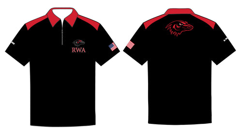 Robbinsville Wrestling Sublimated Polo Shirt - Youth - 5KounT2018