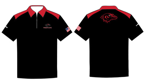Robbinsville Wrestling Sublimated Polo Shirt - 5KounT2018