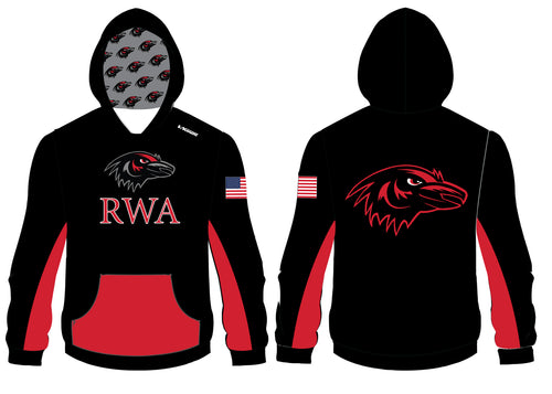 Robbinsville Wrestling Sublimated Hoodie - Youth - 5KounT2018