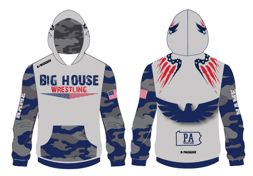 Big House Wrestling Sublimated Hoodie