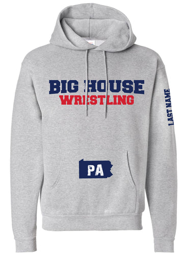 Big House Wrestling Cotton Hoodie