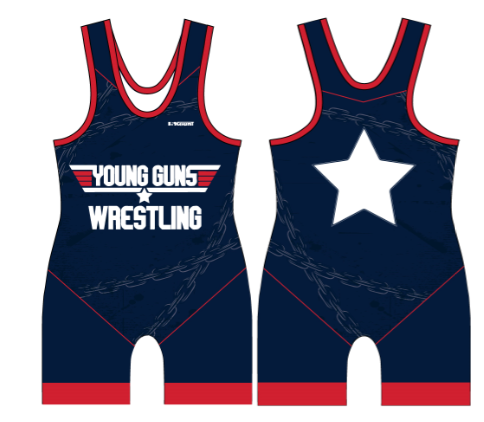 Young Guns Sublimated Wrestling Singlet