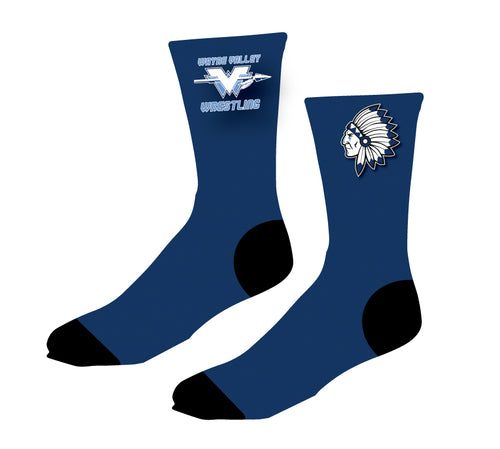 Wayne Valley Wrestling Sublimated Socks