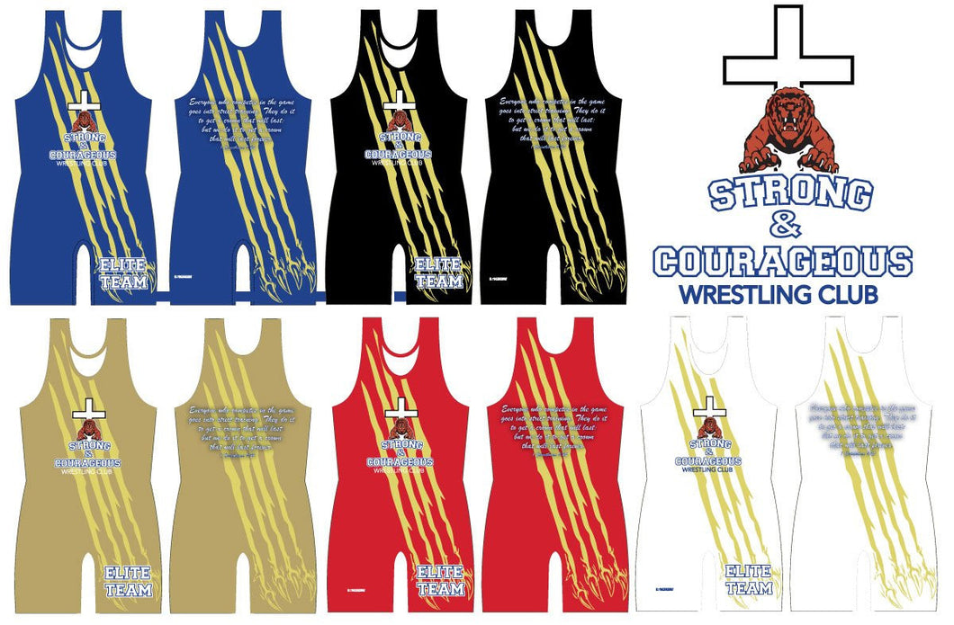 S&C Sublimated Singlet