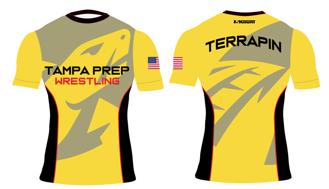 Terrapin Wrestling Sublimated Compression Shirt