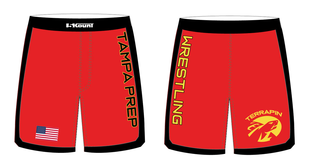 Terrapin Wrestling Sublimated Fight Shorts - 5KounT