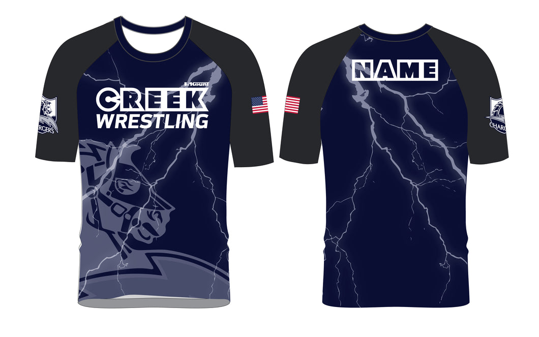 Creek Wrestling Sublimated Fight Shirt - 5KounT2018