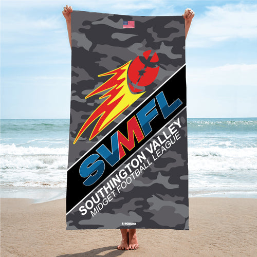 SVMFL Sublimated Beach Towel