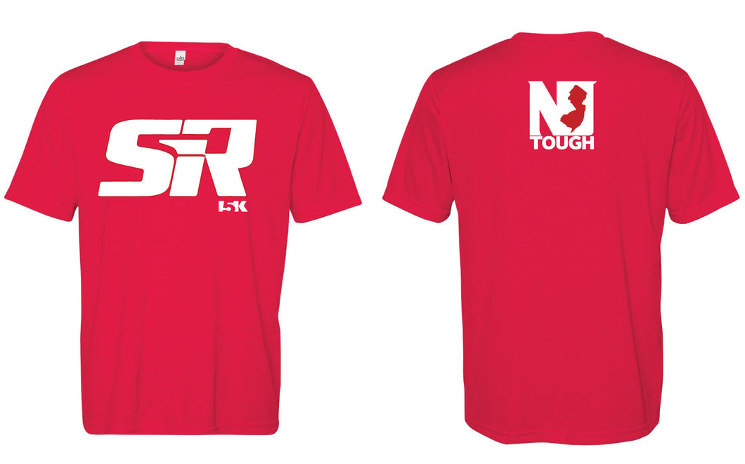 SIR Sublimated DryFit Performance Tee - Red