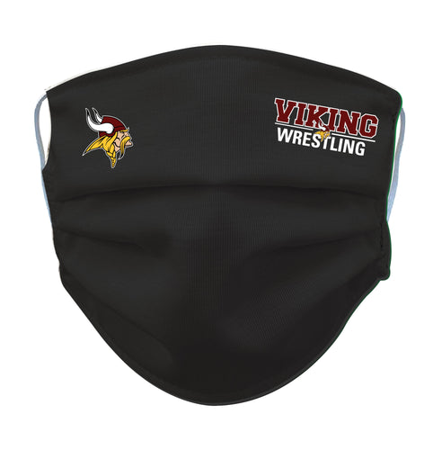 Vikings Wrestling Reusable Face Mask - 5KounT2018