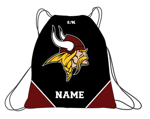 Vikings Wrestling Sublimated Drawstring Bag - 5KounT2018