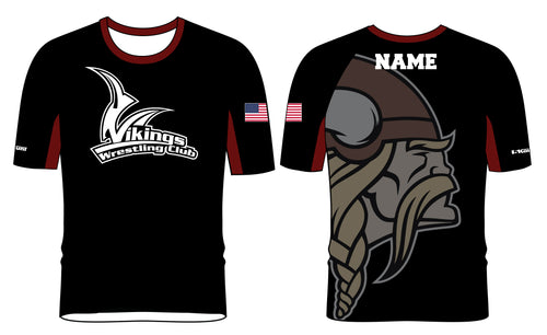Vikings Wrestling Sublimated Fight Shirt - 5KounT2018