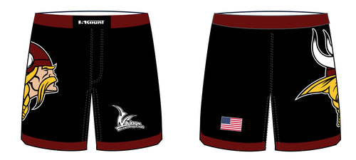 Vikings Wrestling Sublimated Fight Shorts - 5KounT2018