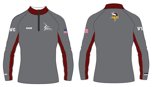 Vikings Wrestling Sublimated Quarter Zip - 5KounT2018