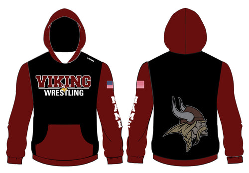 Vikings Wrestling Sublimated Hoodie - 5KounT2018