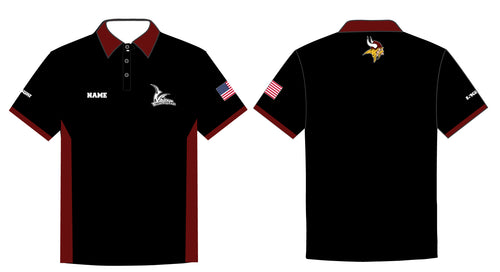 Vikings Wrestling Sublimated Polo Shirt - 5KounT2018