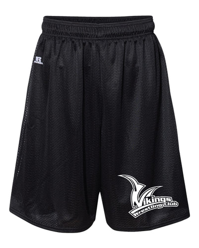 Vikings Wrestling Russell Athletic Tech Shorts - Black - 5KounT2018