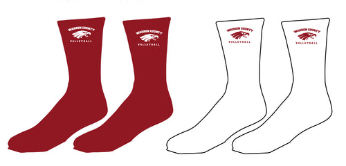 Warren County Volleyball Sublimated Socks - 5KounT