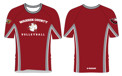 Warren County Volleyball Sublimated Shirt - 5KounT