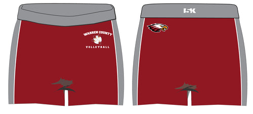 Warren County Volleyball Sublimated Shorts - 5KounT