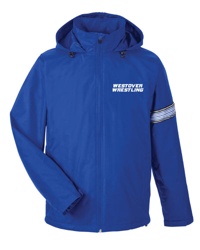 Westover Wrestling All Season Hooded Jacket - Royal Blue - 5KounT2018