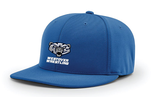 Westover Wrestling FlexFit Cap - Royal Blue - 5KounT2018