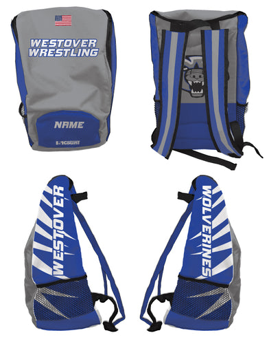 Westover Wrestling Sublimated Backpack - 5KounT2018