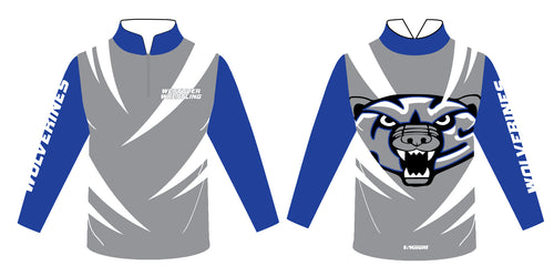 Westover Wrestling Sublimated Quarter Zip - 5KounT2018