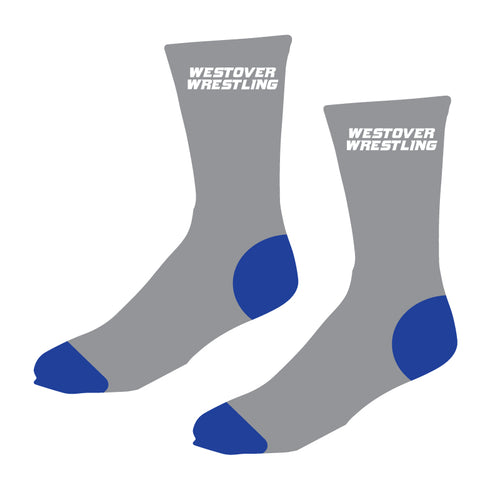 Westover Wrestling Sublimated Socks - 5KounT2018