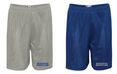 Westover Wrestling Tech Shorts - Grey or Royal - 5KounT2018
