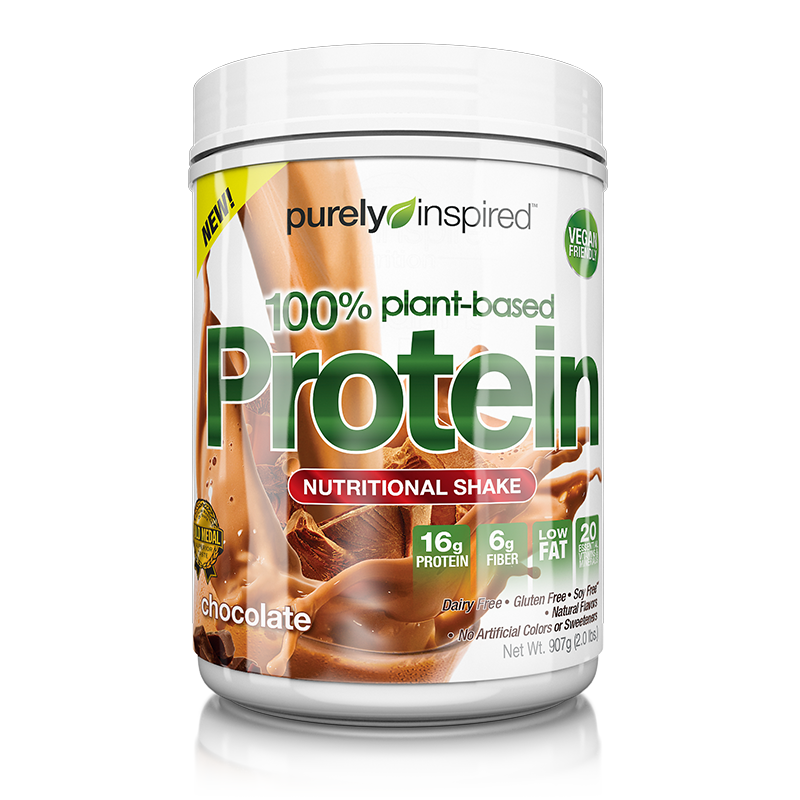 100% Plant-Based Protein