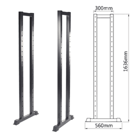 SRMCSR01 - 2 pieces 1.6M Rack w/o Wheel - DirectHomeGym